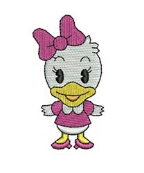 Cutie Daisy Duck embroidery design