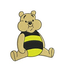 Winnie the Pooh embroidery design