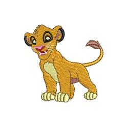 Little Simba embroidery design