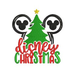 Disney Christmas embroidery design