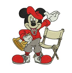 Director Mickey embroidery design