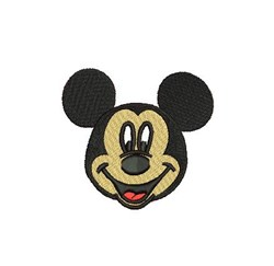 Mickey Mouse Head embroidery design