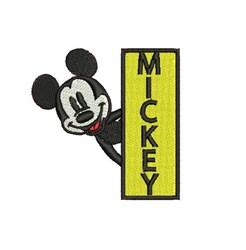 Mickey embroidery design