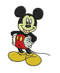 Mickey Mouse Small embroidery design