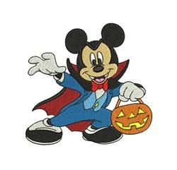 Vampire Mickey embroidery design