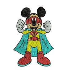 Mickey Mouse  Superhereo embroidery design