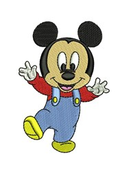 Toddler Mickey embroidery design
