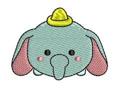 Tsum Dumbo embroidery design