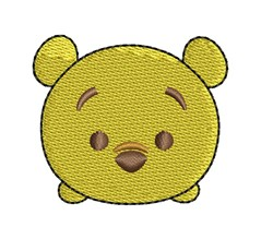 Tsum Pooh embroidery design