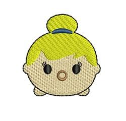 Tsum Tsum Tinkerbell embroidery design