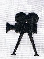 Film Camera embroidery design