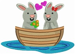 Love Boat - Bunnies embroidery design