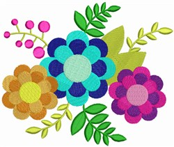 Spring Bouquet embroidery design
