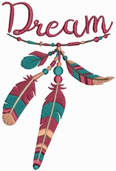 Dream Feathers embroidery design