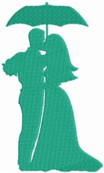 Lovely Couple embroidery design