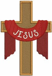 Jesus Cross embroidery design