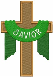 Savior Cross embroidery design