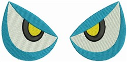 Monster Eyes embroidery design