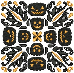 Boo-tiful Halloween Blocks 5 embroidery design