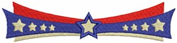 July 4th Decoration embroidery design