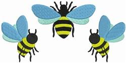Bumblebee Border embroidery design
