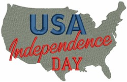 USA, Independence Day embroidery design