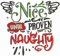 Pproven Naughty embroidery design
