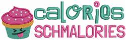 Calories Schmalories embroidery design