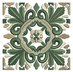 Celtic Quilt Block embroidery design