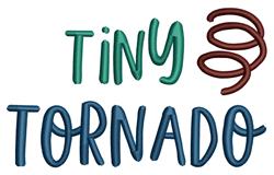 Tiny Tornado embroidery design