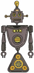Robot embroidery design