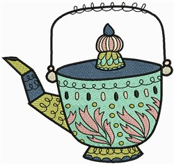 Vintage Pot embroidery design