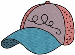 Golf Cap embroidery design