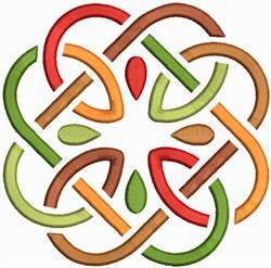 Autumn Celtic Knot embroidery design