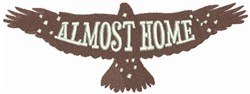 Eagle - Almost Home embroidery design