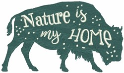 Yak - Nature is my Home embroidery design