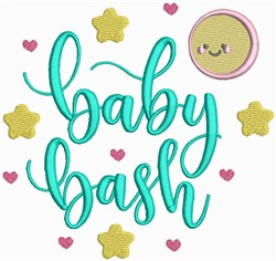 Baby Bash embroidery design