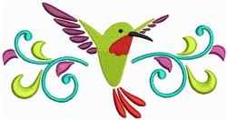 Humming Bird Border embroidery design