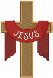 Jesus Cross embroidery design