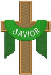 Savior Cross embroidery design