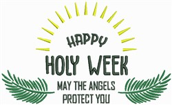 Angels Protect You embroidery design