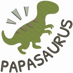 Papasaurus - Papa Dino embroidery design