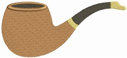 Cigar Pipe embroidery design