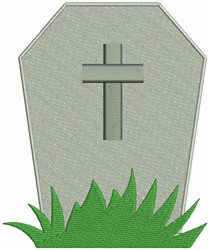 Tomb embroidery design