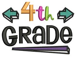 4th Grade embroidery design