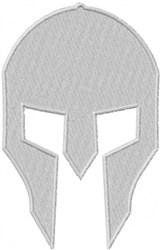 Gladiator Face embroidery design