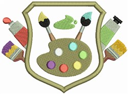 Art Crest embroidery design