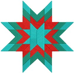 Xmas Quilt embroidery design