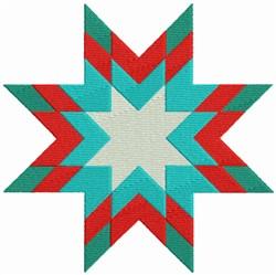 Xmas Quilt Block embroidery design