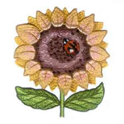 Country Sunflower embroidery design